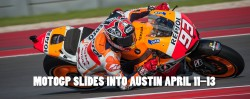 MOTOGP Schedule at Circuit of the Americas - Austin Texas