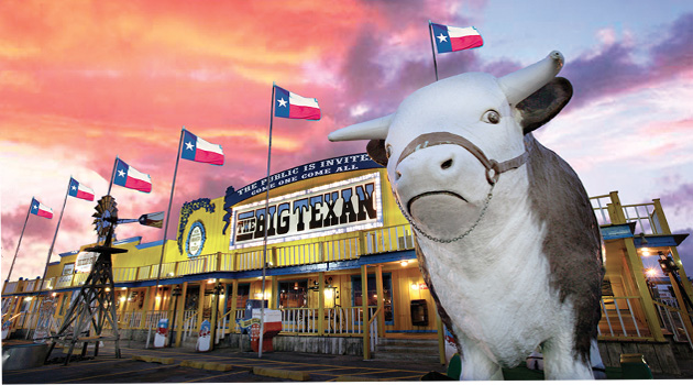 Big Texan Restaurant - Amarillo Texas