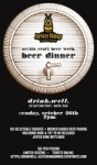 Jester King Beer Dinner at Drink.Well. - Austin Craft Beer Week