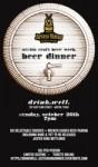 Jester King Beer Dinner at Drink.Well. - Austin Craft Beer Week